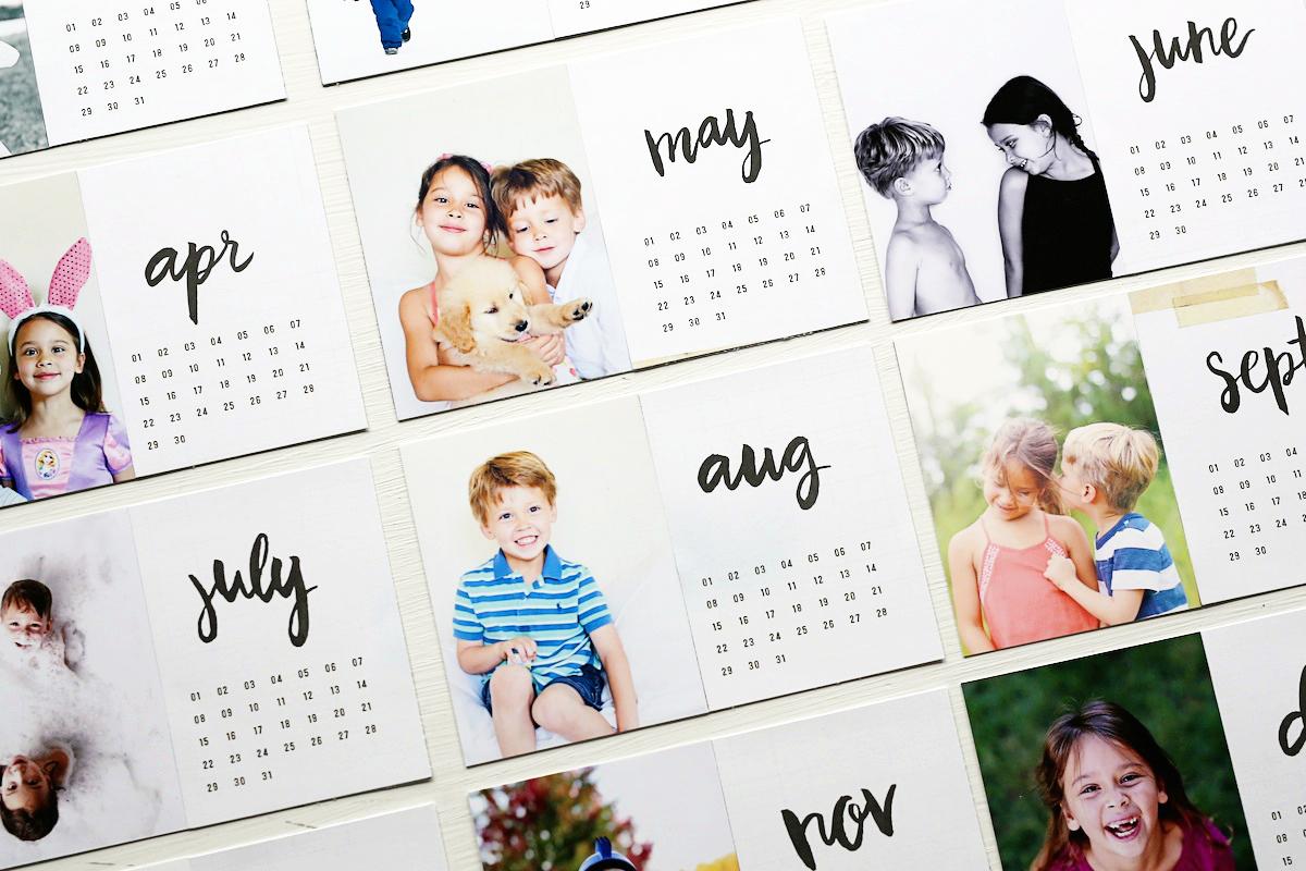 Diy Photo Calendar : Stephanie makes diy photo calendar