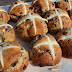 Chocolate & Spice Hot Cross Buns