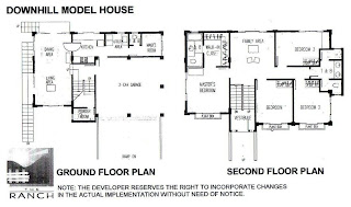 The Ranch at Timberland Heights Quezon City Environs Ridgedeck Floor Plan