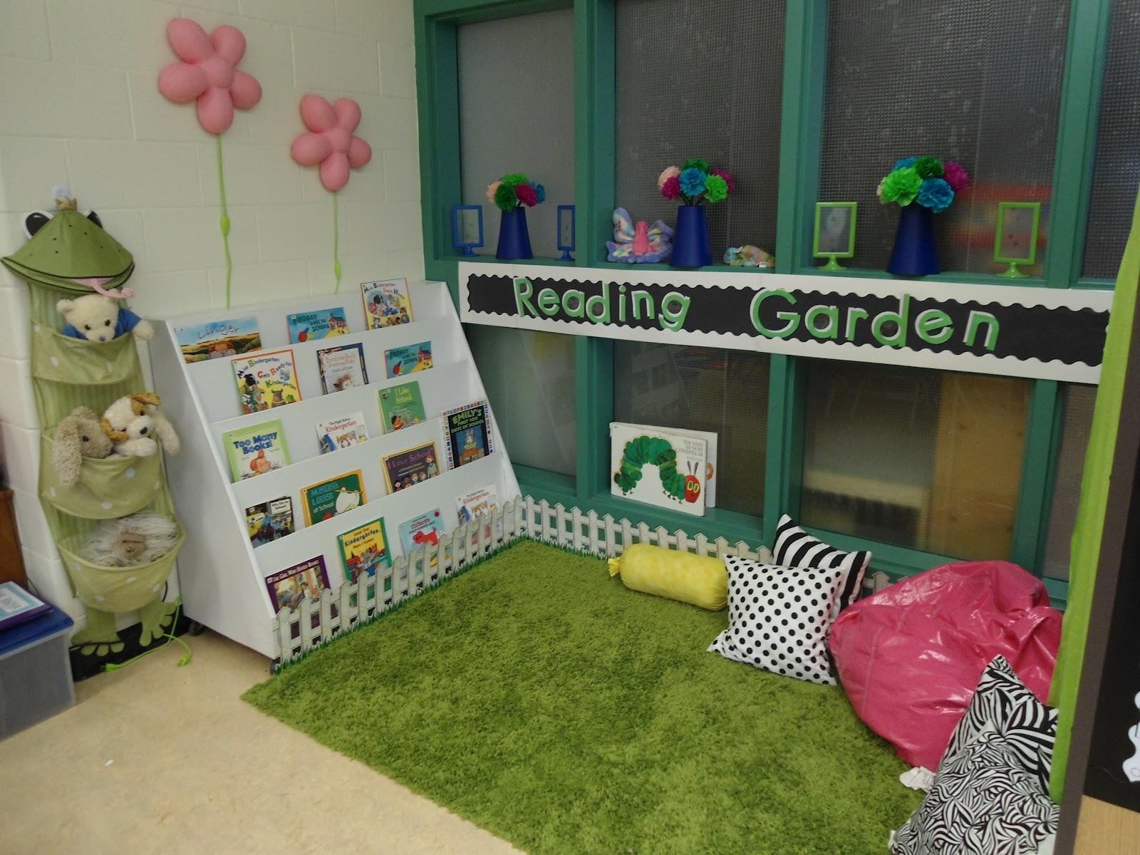 Classroom Garden Ideas ~ Miss minor s munchkins reading garden