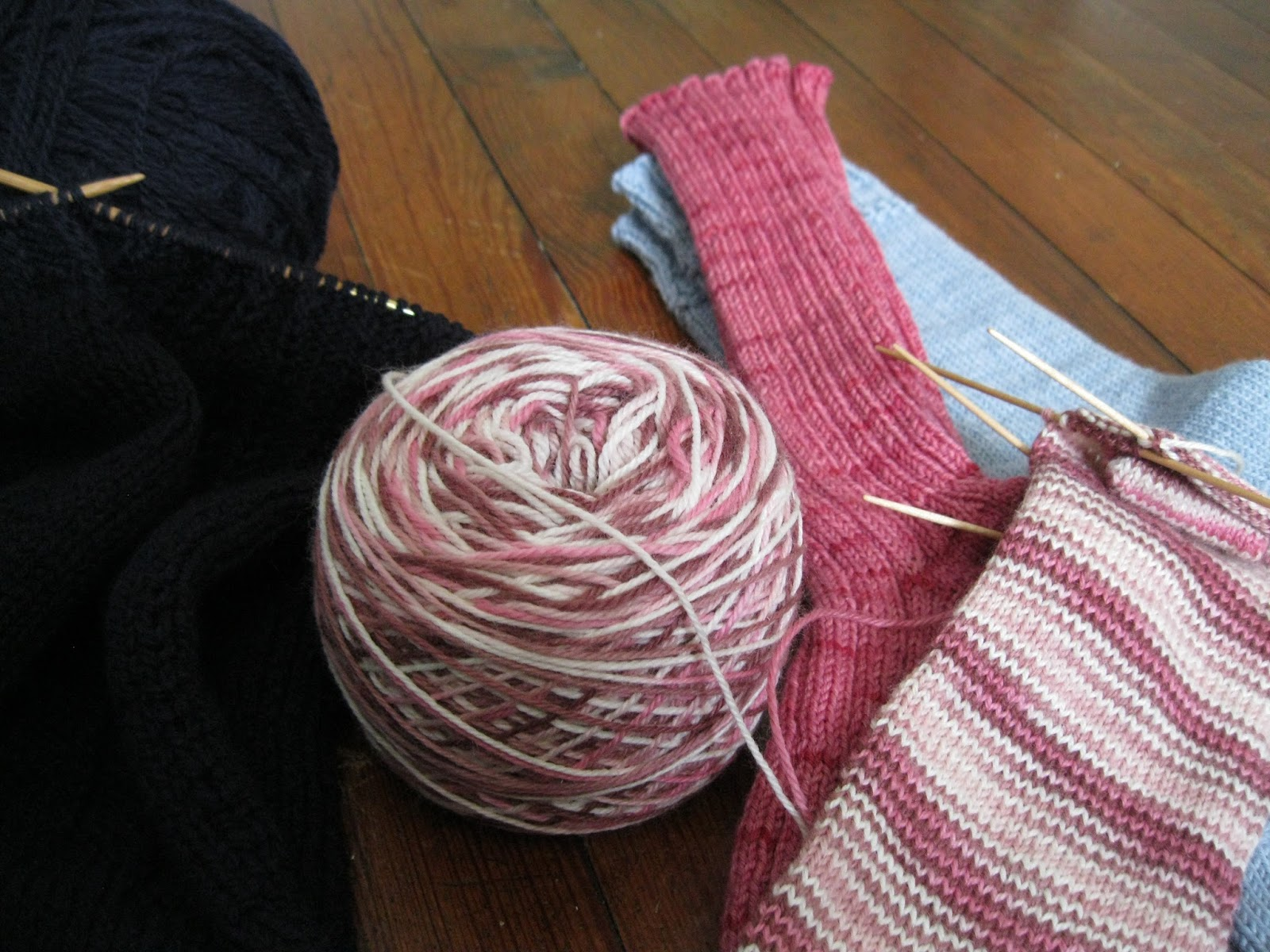 how to tell the right side of knitting
