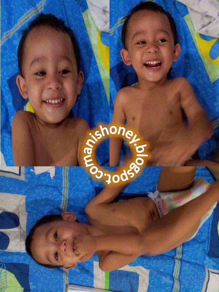 Affan Hadziq 2 tahun 5 bulan