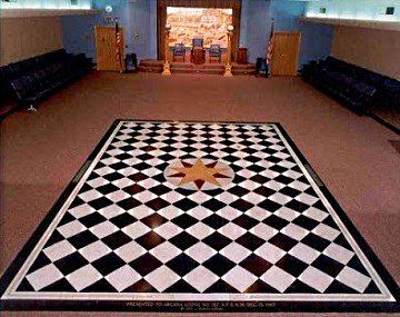 Sirio mosaico masonico