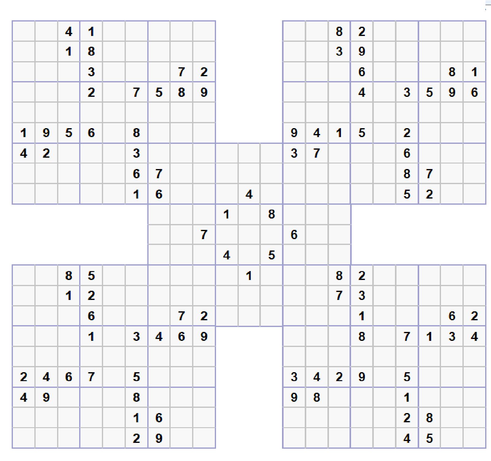 Tpe fran ais maths texte - Grille de sudoku diabolique ...