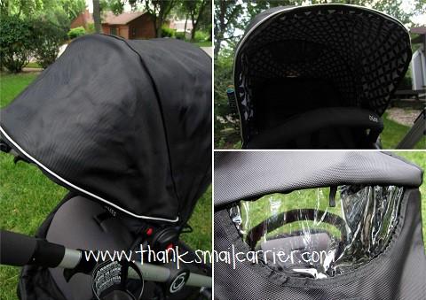 Bliss stroller canopy