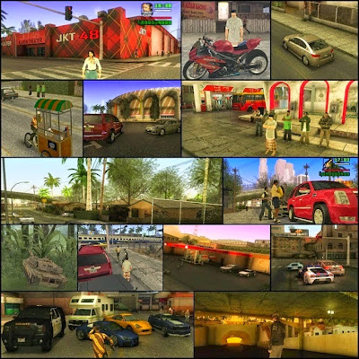 Download Game GTA Extreme Indonesia 100% Working
