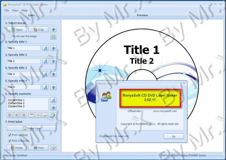 manual de usuario de ronyasoft cd dvd label maker así como parches de ...