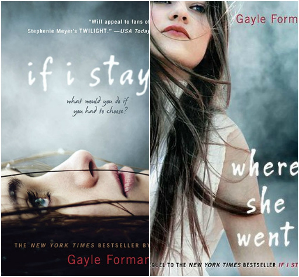 The saturday edition if i stay and where she went by gayle forman