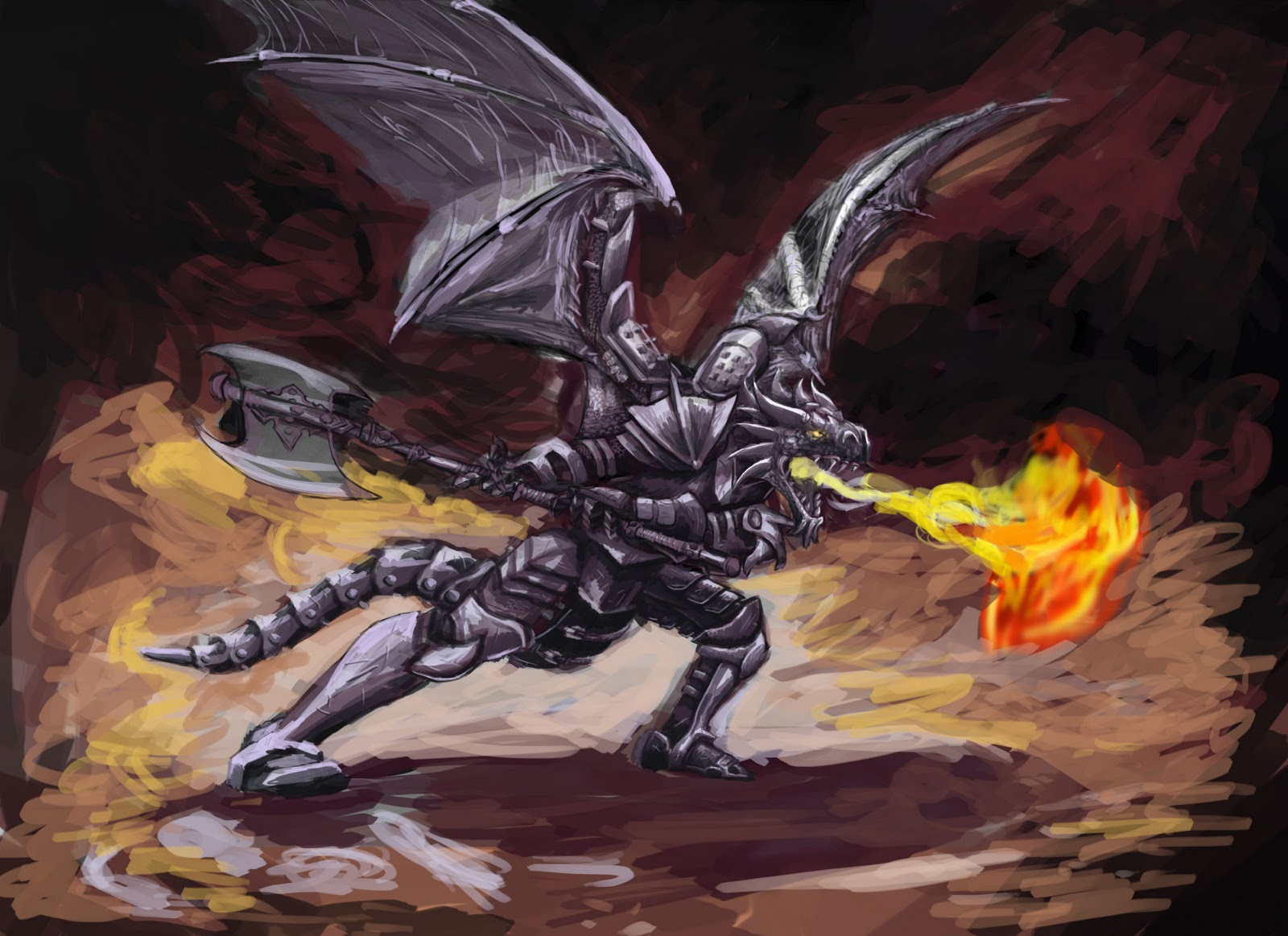 D&D Character sheet - Jack'O'Bones Dragonborn_Fighter_0