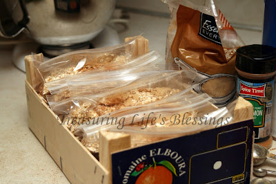 homemade oatmeal packet, money saving, kitchen, recipe