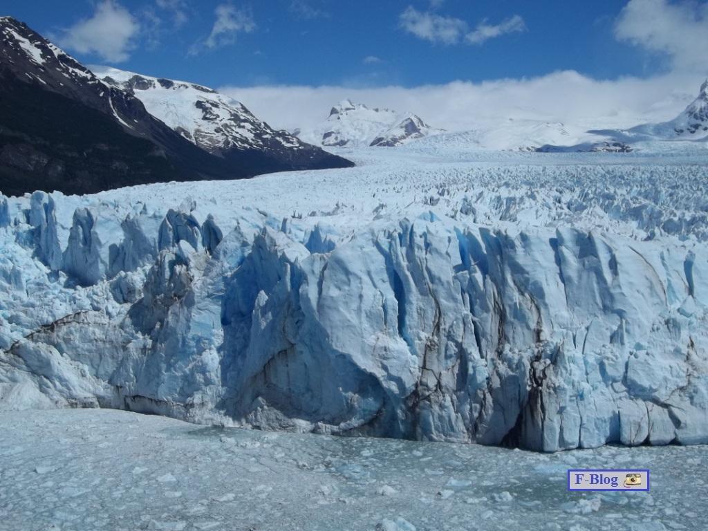 Glaciar Perito Moreno - Lengua que desciende - Parque Nacional Los Glaciares