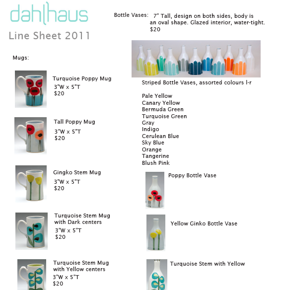 dahlhaus: Walking the Line: thoughts on creating a Line Sheet