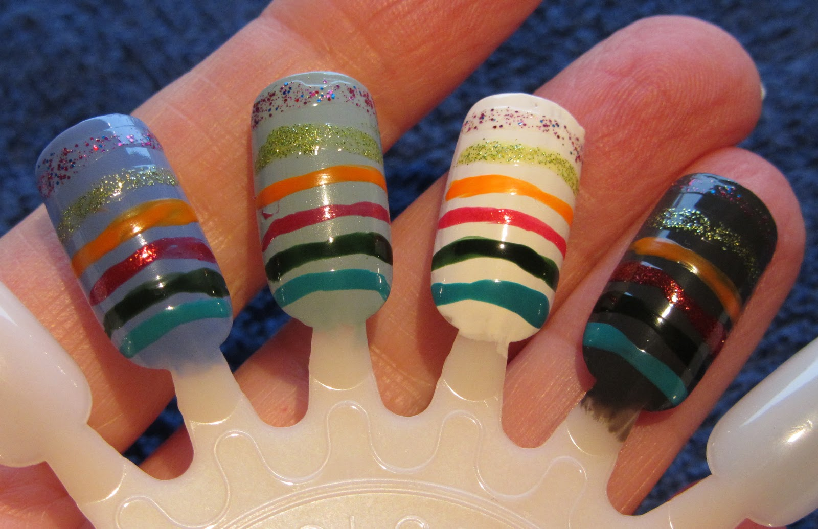 Marias Nail Art and Polish Blog: Art Deco nail art stripers from ...