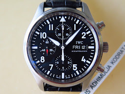 IWC CLASSIC PILOT'S CHRONOGRAPH IW371701 BLACK DIAL - AUTOMATIC