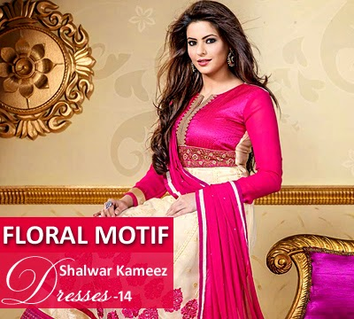 Floral Motif Dresses 2014-2015
