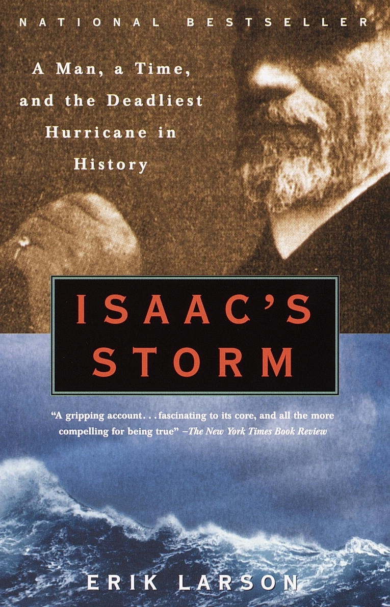Signal Watch Reads: Isaac's Storm by Erik Larson (audiobook)