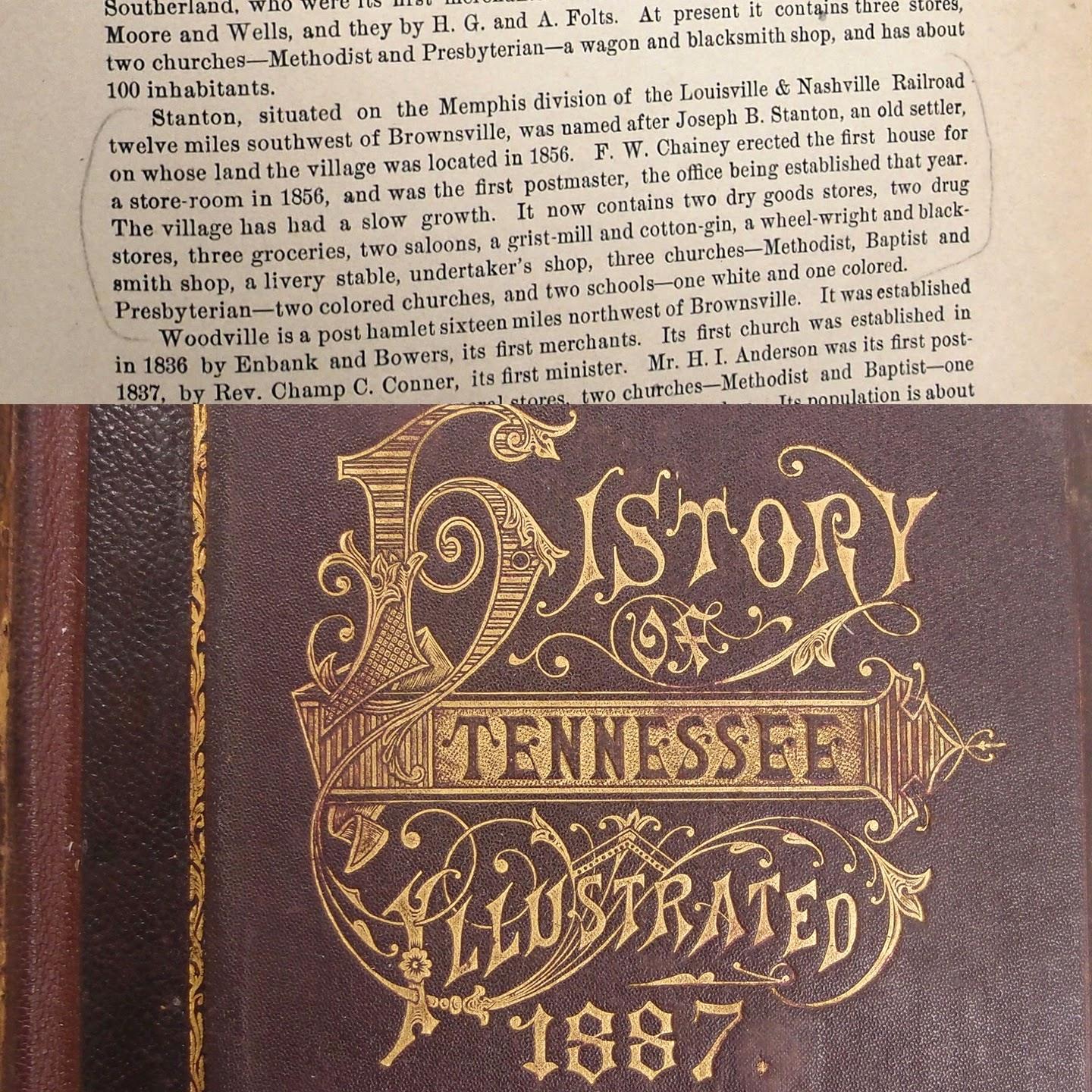 Tennessee haywood county stanton - A Little Stanton History From The 1887 History Of Tennessee