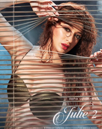 Poster Of Bollywood Movie Julie 2 2017 300MB Pdvd Full Hindi Movie