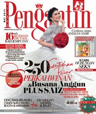 CANDY PARADISE DALAM PESONA PENGANTIN ISSUE MEI 2014