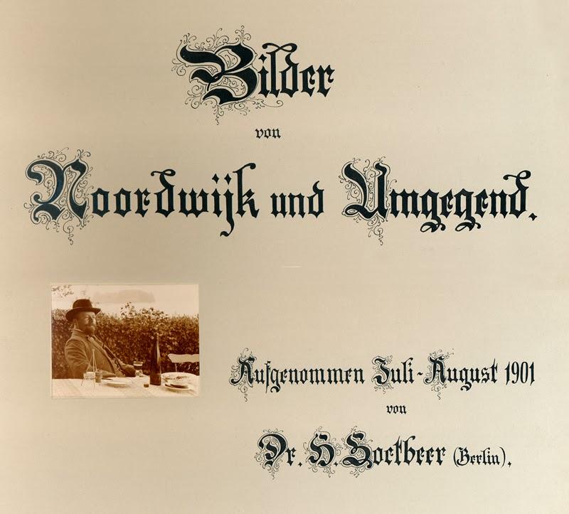 Omslag fotoalbum H. Soetbeer. Collectie Tappenbeck.