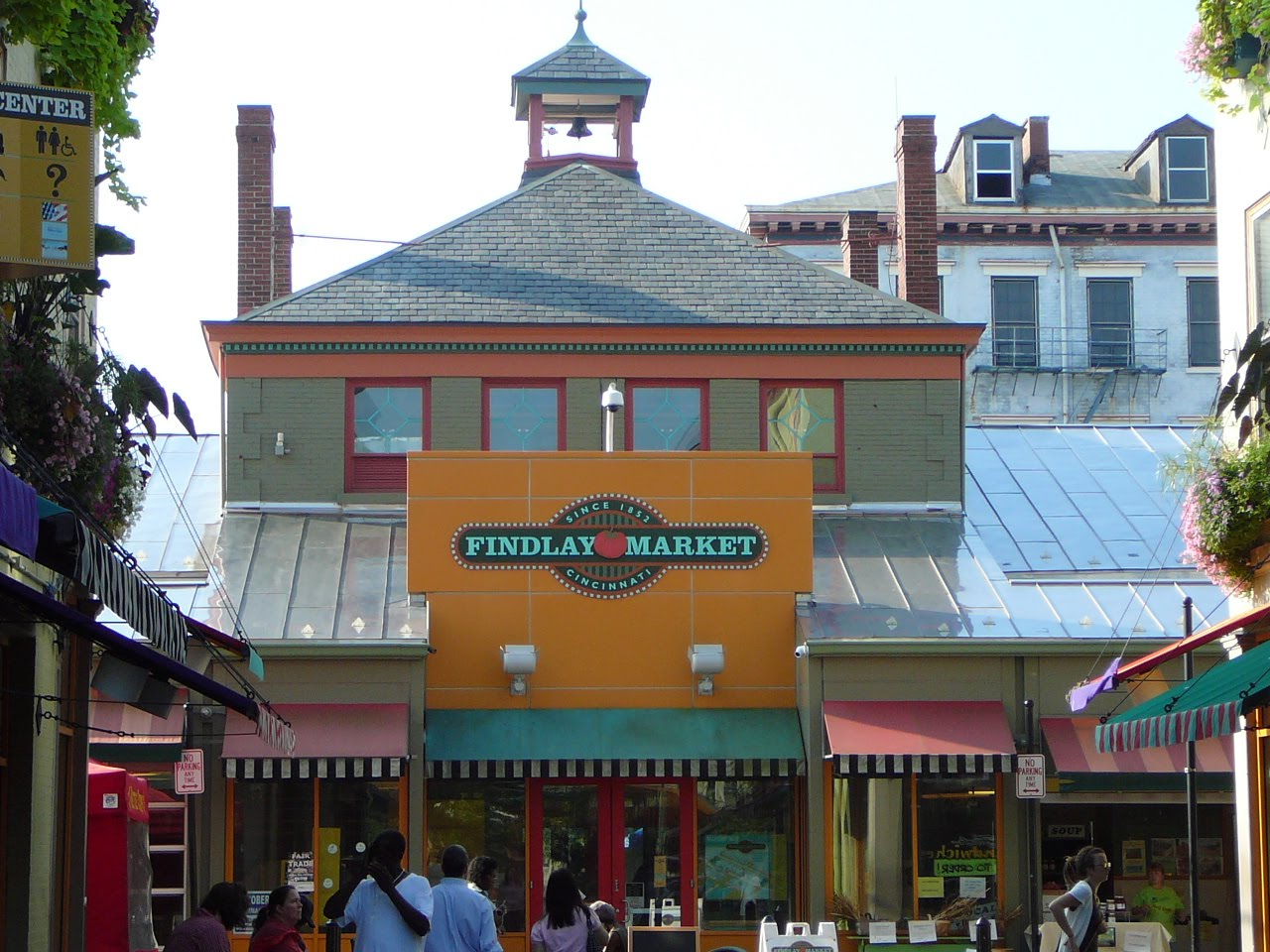queen city tour  findlay market