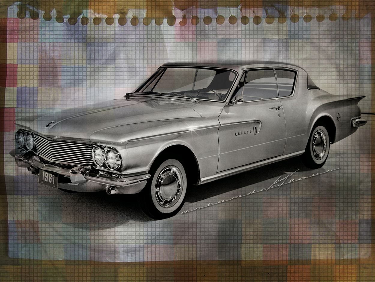 Casey artandcolour cars february 2012 - 1961 Dodge Lancer Gt Hardtop Coupe