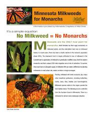 No Milkweed = No Monarchs
