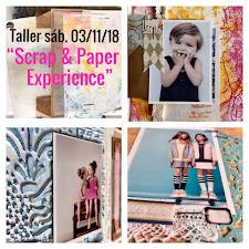 Scrap and Paper Experience:            Caja/contenedor y su Álbum en el interior