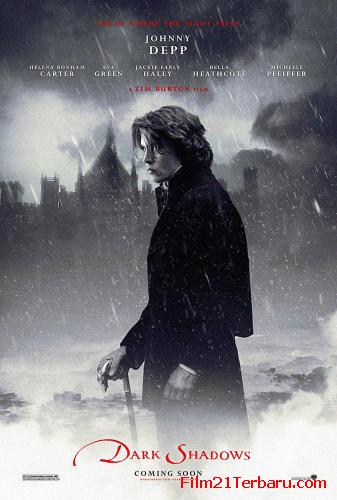 Dark Shadows 2012 di Bioskop