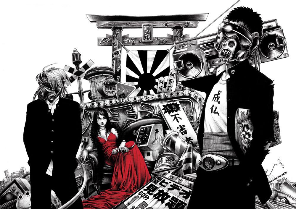 shohei hakuchi illustration