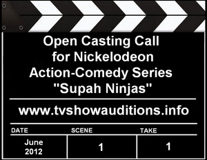 Nickelodeon Open Casting Call Supah Ninjas