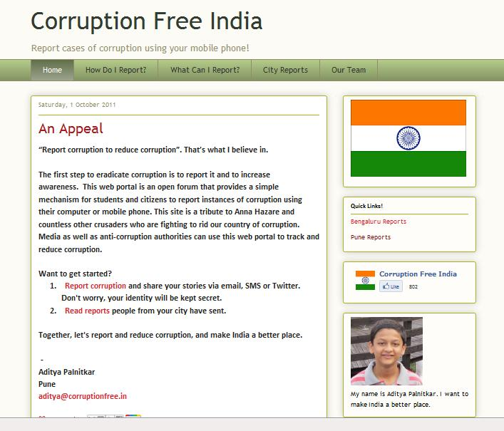 anti corruption india essay