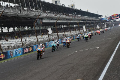 Race Moto3 dan Moto2 Indianapolis 'Tertukar'?