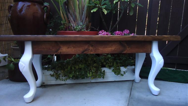 Seashell Legs - Sitting Bench