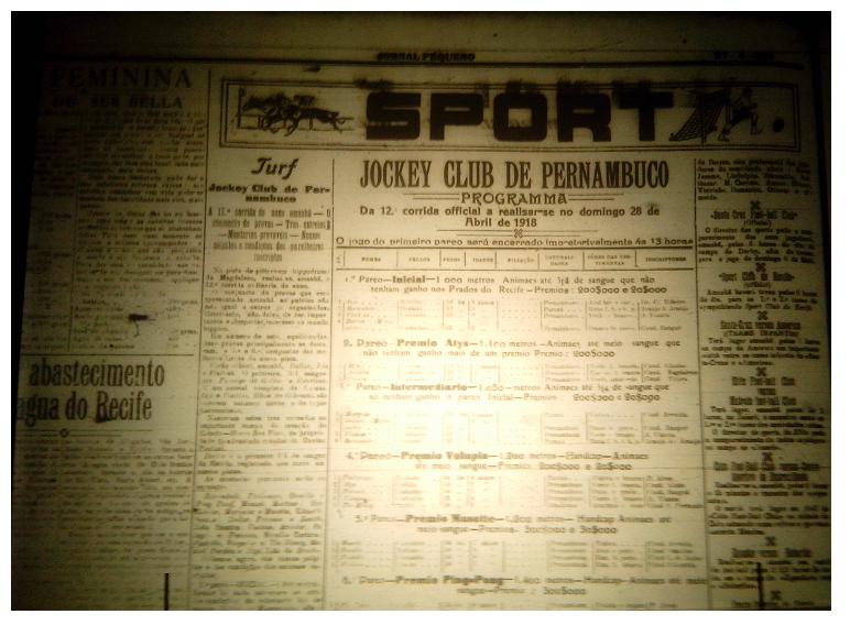 MEMÓRIAS ESMERALDINAS: América 10 x 1 Náutico em abril de 1918