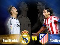 Prediksi Real Madrid vs Atletico Hasil Nanti Malam Dini Hari 23 April 2015