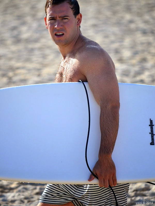 striped surfer