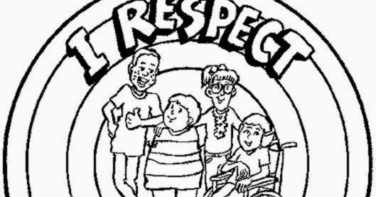 Respect Coloring Sheets