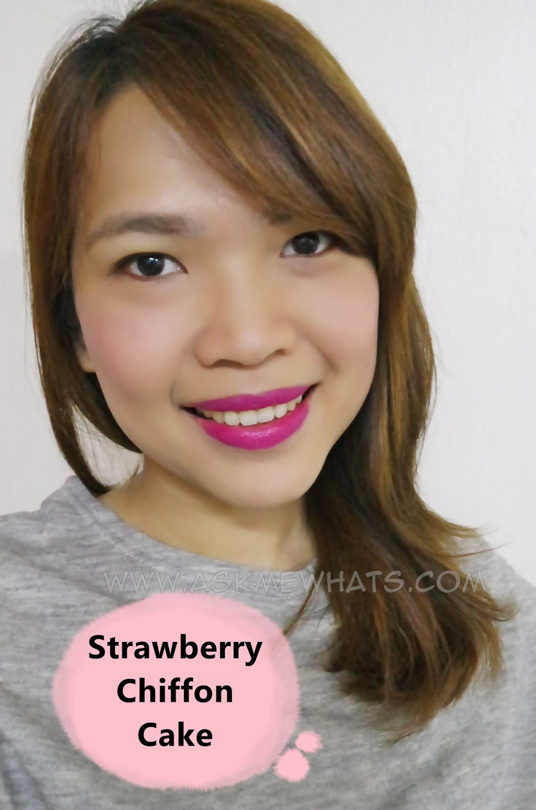 Etude House Sweet Recipe Cupcake All Over Color review in strawberry chiffon cake