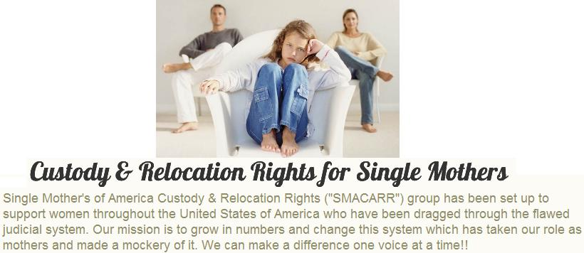 Custody & Relocation Rights for Single Mothers