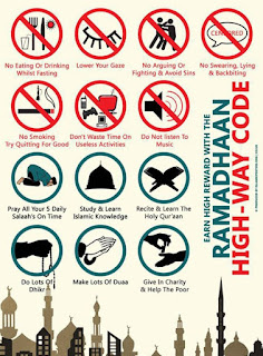 Do And Donts Ramadhan