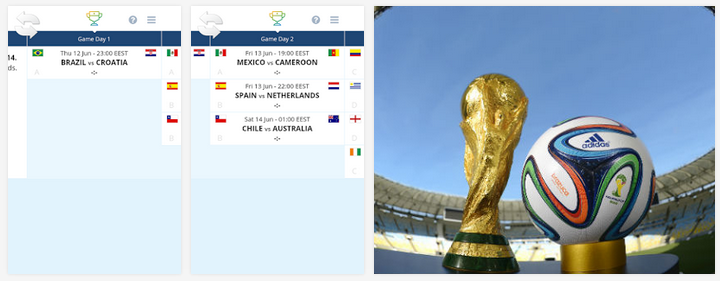 تحميل أفضل تطبيقات كأس العالم 2014 للأندرويد مجاناً بصيغة APK
