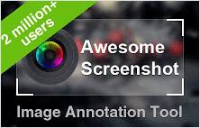 Awesome screenshot plugin for Google Chrome