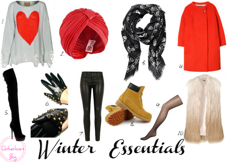 clothes-lovers: 10 Winter Must Haves