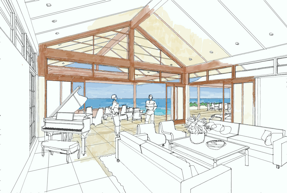 Home plans ocean view house design plans for Ocean house plans