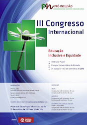 """III Congresso Internacional """"Educação Inclusiva e Equidade"""