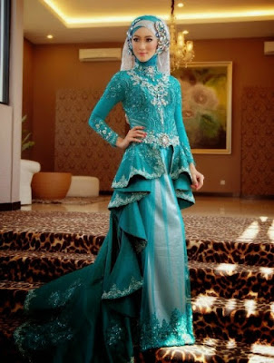 jilbab untuk kebaya pesta