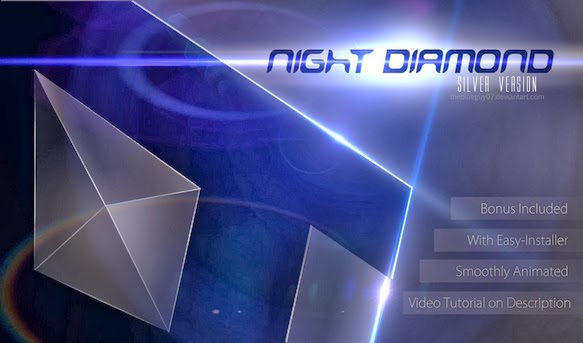 Screenshot Kursor Night Diamond
