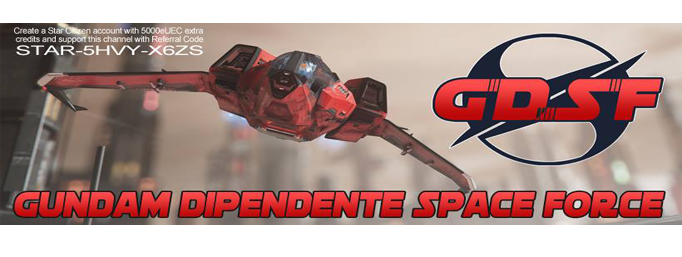 GUNDAM DIPENDENTE SPACE FORCE