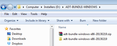 Install Android Development Environment - ADT Bundle